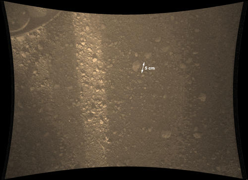 La surface de Mars par Curiosity