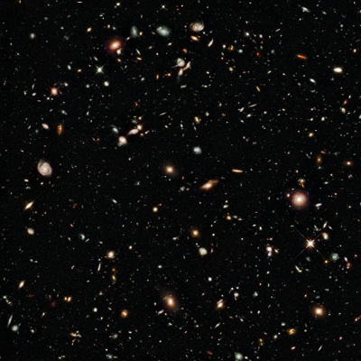 L'Univers lointain par Hubble
