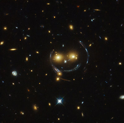Hubble smiley