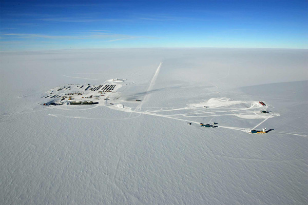 La station antarctique Amundsen-Scott